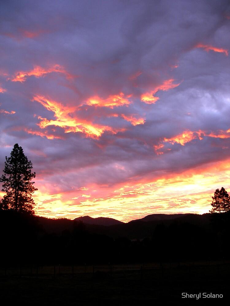 October Sunrise by Sheryl Solano