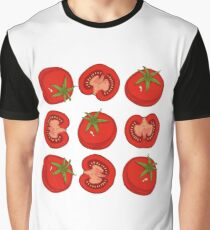Ripe Red Tomatoes Graphic T-Shirt