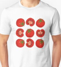 Ripe Red Tomatoes Unisex T-Shirt