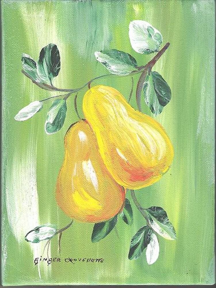 Pair of Pears by Ginger Lovellette