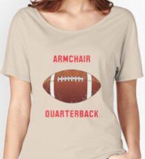 ARMCHAIR QUARTERBACK Women's Relaxed Fit T-Shirt