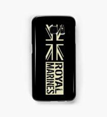British Royal Marines Black Military Flag Samsung Galaxy Case/Skin