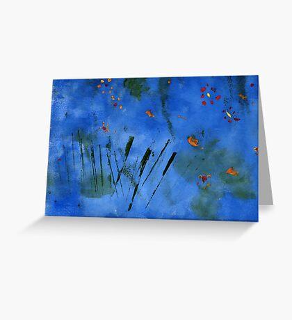 Van Gogh (by Erica 10 years old) Greeting Card