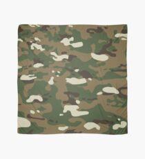 Woodland Camouflage Pattern Scarf