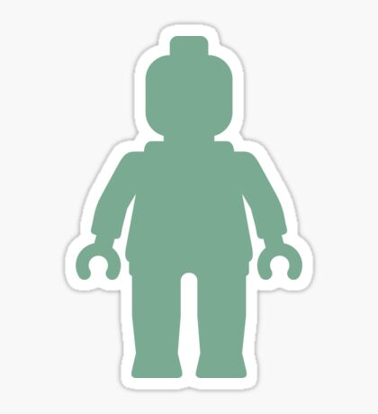 Minifig [Large Sand Green] Sticker