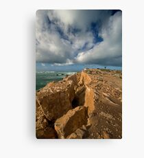Where the Land Meets the Sky Canvas Print