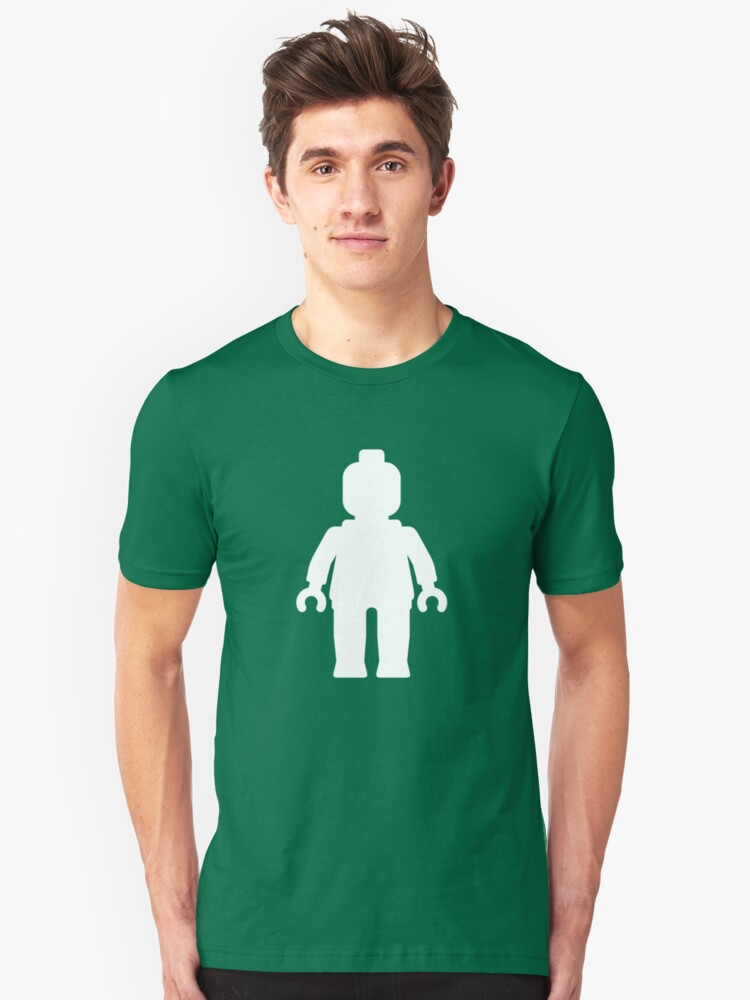 Minifig [White], Customize My Minifig Unisex T-Shirt Front