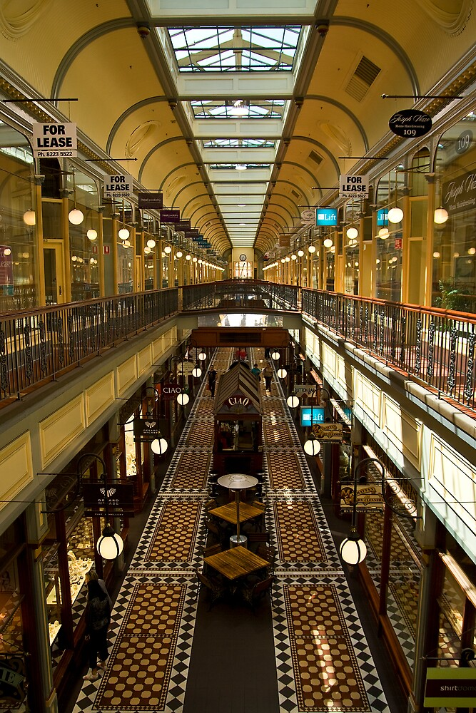 Adelaide Arcade by Peter Ede