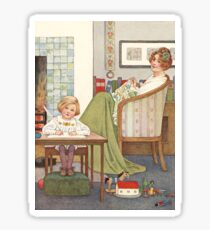 His Book by Millicent Sowerby Sticker