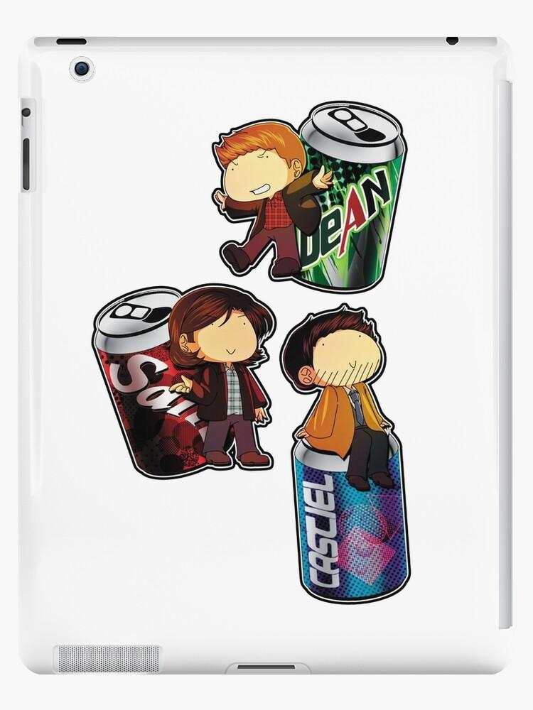 Supernatural Soda Ipad Cases Skins By Varyupon Redbubble