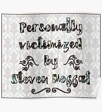 Personally Victimized by Moffat (221b wallpaper) Poster