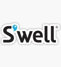 Swell Water Bottle Logo Sticker