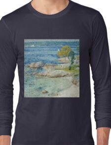 Childe Hassam - The Outer Harbour Long Sleeve T-Shirt