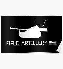 U.S. Military: Field Artillery Poster