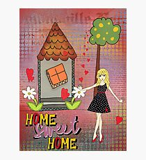Home sweet home Photographic Print