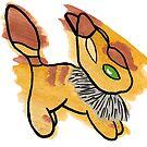 Fox Squirrel by Levaralth