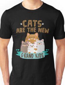 CATS ARE THE NEW GRANDKIDS T SHIRT Unisex T-Shirt