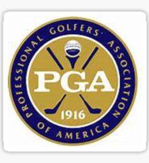 PGA Sticker