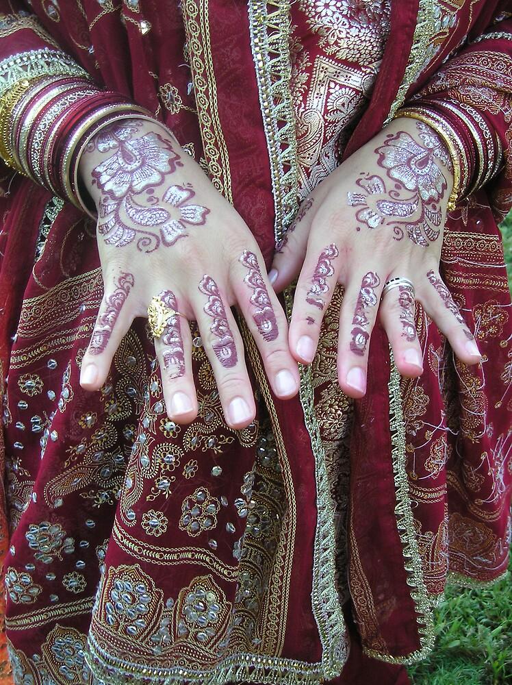 Henna Hands by adrianmole