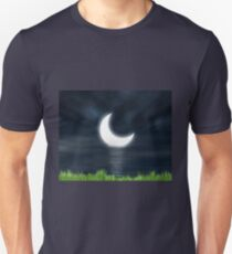Moon on the water 2 Unisex T-Shirt