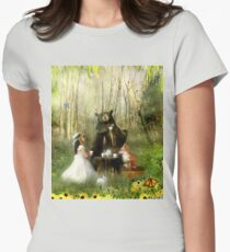 Abigail's Friends Womens Fitted T-Shirt