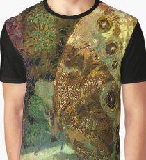 Golden Butterfly Graphic T-Shirt