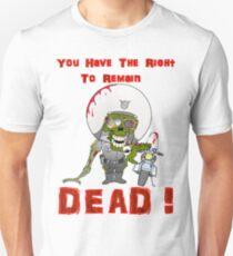 Zombie Cop Unisex T-Shirt