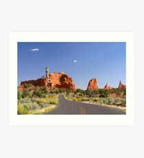 Road to Page Art Print