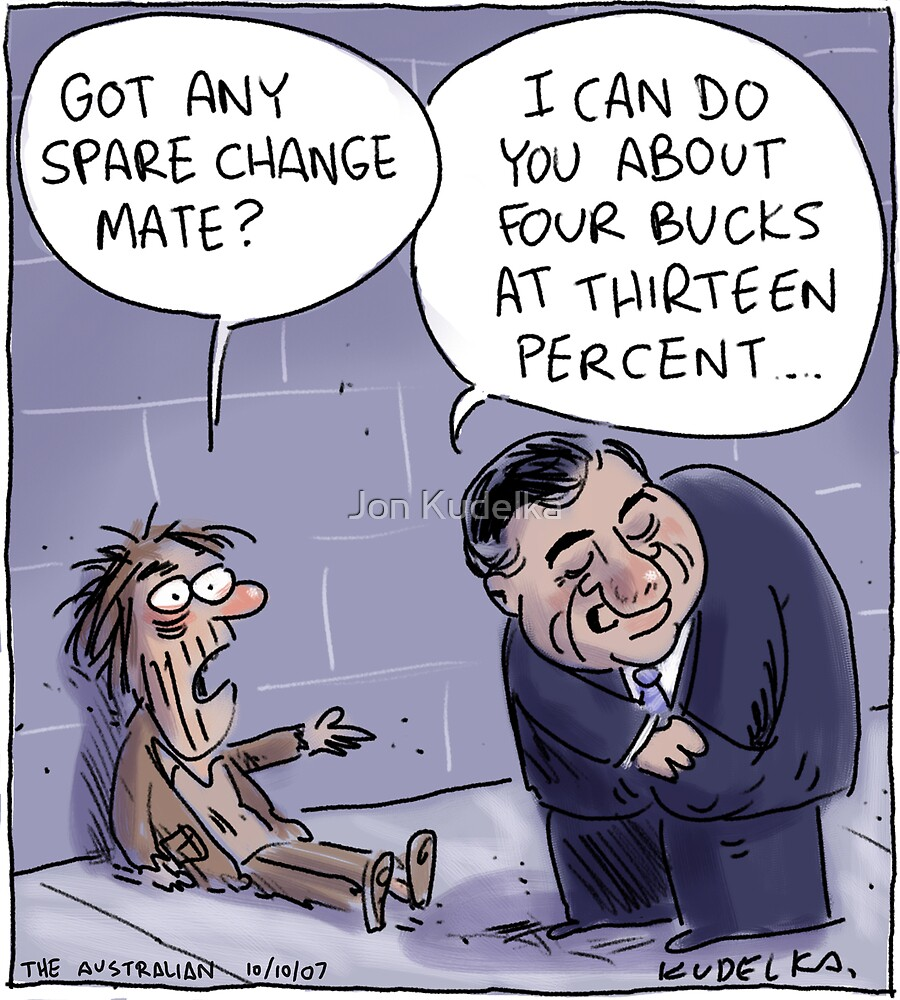 Aussie Homeless Loan by Jon Kudelka