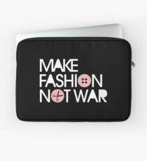 MAKE FASHION NOT WAR Laptop Sleeve