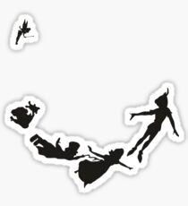 Peter Pan, Wendy, Lost Boys, Tinkerbell Sticker