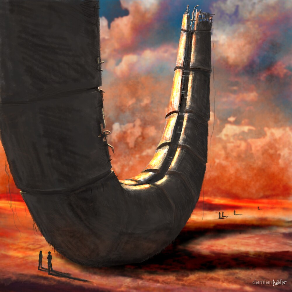desert ruin by damiankafe