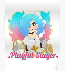 Playful Slayer Poster