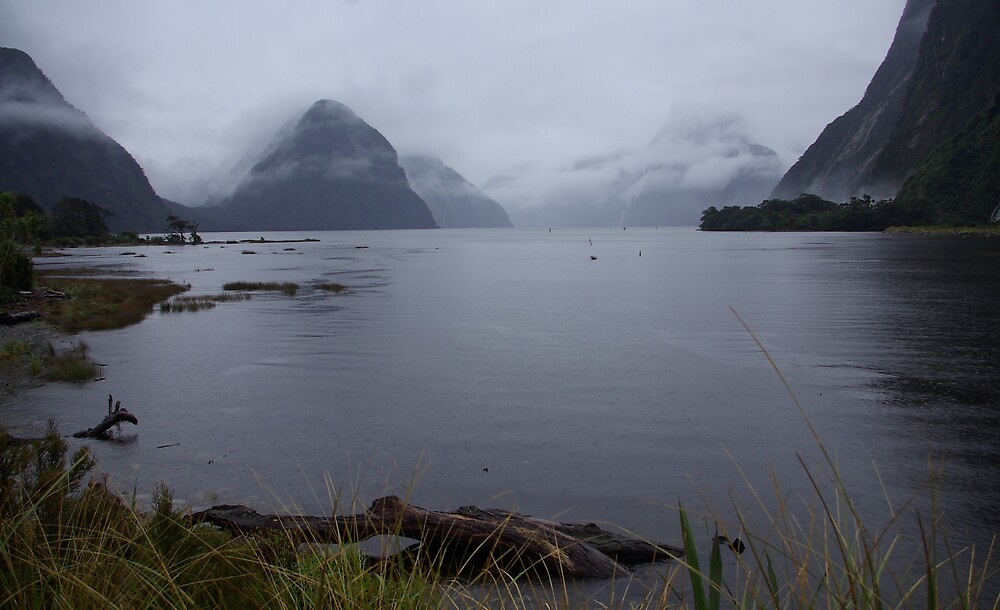 Milford Sound New Zealand 1 by Geoff46