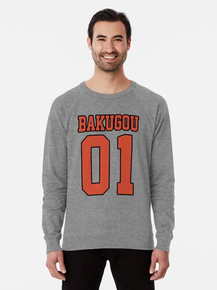 Alternate view of Bakugou Sport Jersey Lightweight Sweatshirt