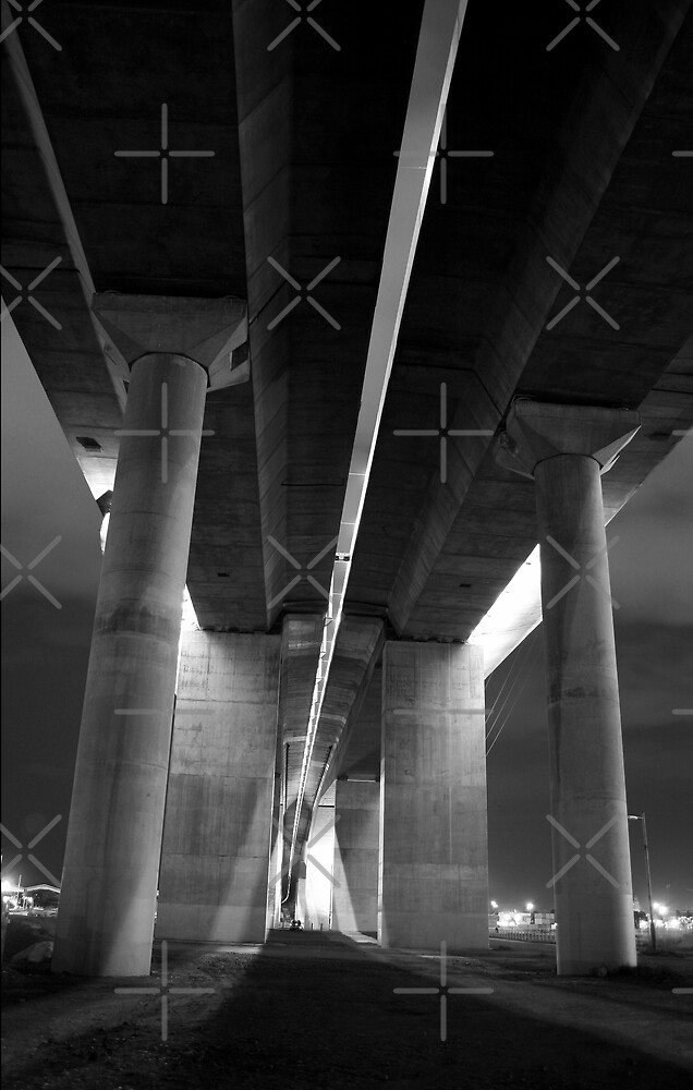 Under the Bolte Bridge 3 by JHP Unique and Beautiful Images