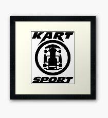 Kart Sport  Framed Print