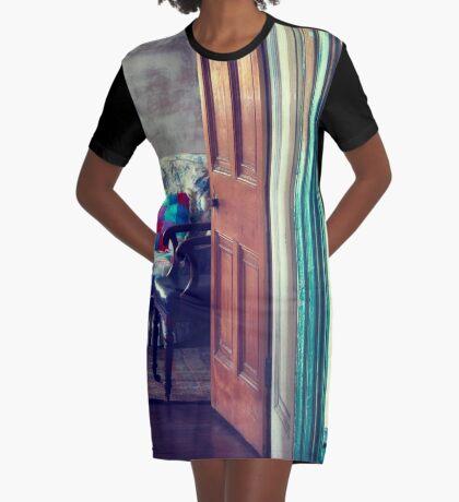 Comfy Corners Graphic T-Shirt Dress