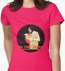 Dig that groove - Legion Womens Fitted T-Shirt