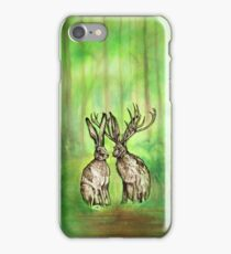 Jackalope Love iPhone Case iPhone Case/Skin