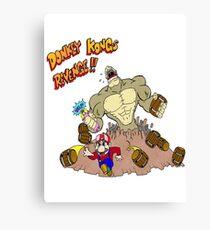Revenge of Donkey Kong Canvas Print