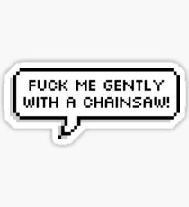 Gently Sticker