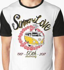Summer of Love 50th Anniversary Graphic T-Shirt