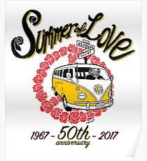 Summer of Love 50th Anniversary Poster