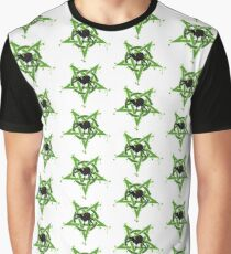 Pentagram Spider Graphic T-Shirt