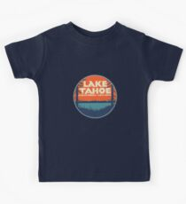 Lake Tahoe California Nevada Vintage State Travel Decal Kids Clothes