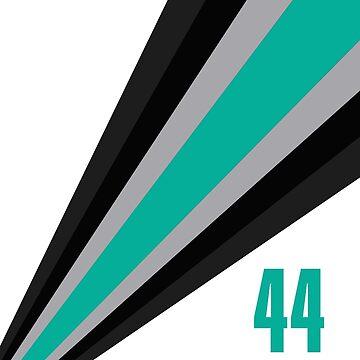 F1 - Hamilton Car 44 by VVdesigns