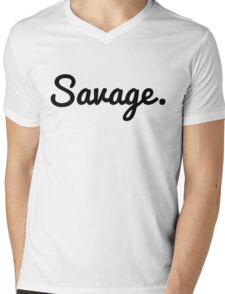Savage Mens V-Neck T-Shirt