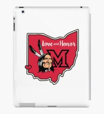 Miami Redskins – Love and Honor  iPad Case/Skin