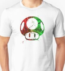 Super Mario Splatter T-Shirt